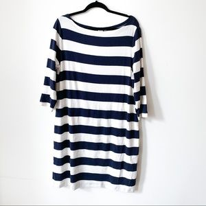 Striped Boatneck Dress // GAP